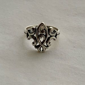 JAMES AVERY Scrolled Ichthus Ring